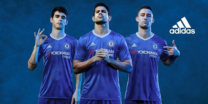 Chelsea home jersey 2016/17
