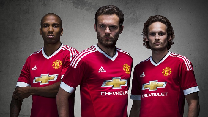 Man Utd home kit 15/16