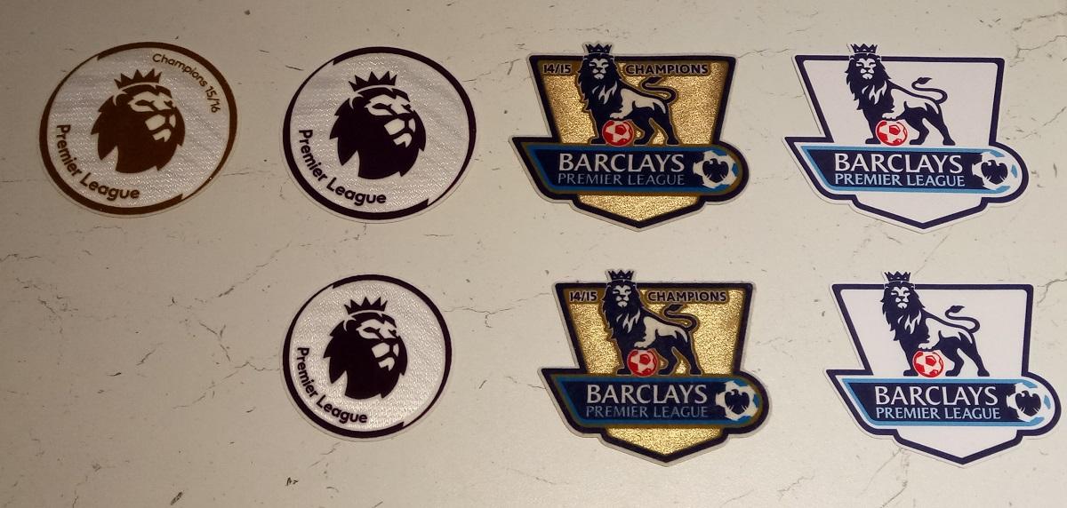 EPL sleeve badges 2016-...