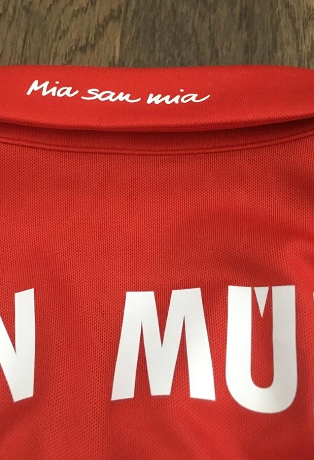 Bayern collar backside