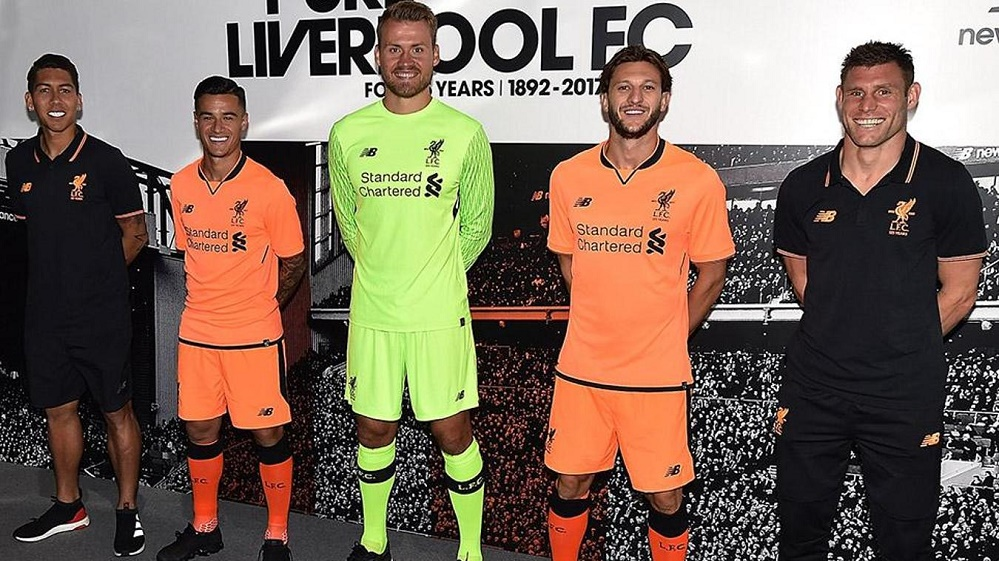Liverpool third kit 2017/18