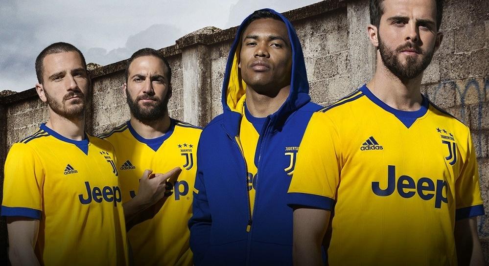 Juventus Away Jersey 2017 18 Yellow Blue Is Back Mm Sports Blog