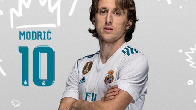 Modric' 10 jersey RM 17/18