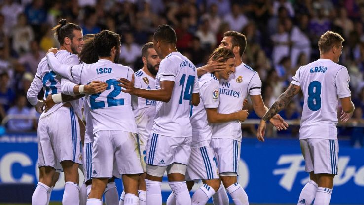 Real Madrid tryk 17/18
