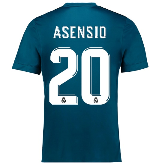 Real Madrid third kit Asensio 20