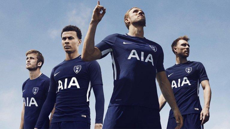 Spurs away kit 2017/18