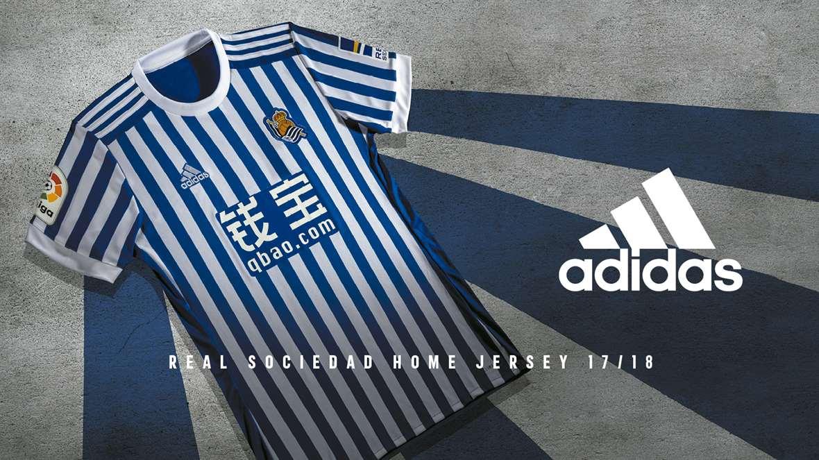 Real Sociedad home jersey 2017/18