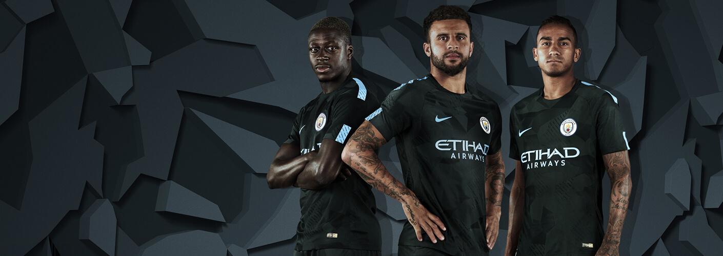 Manchester City third kit 2017/18