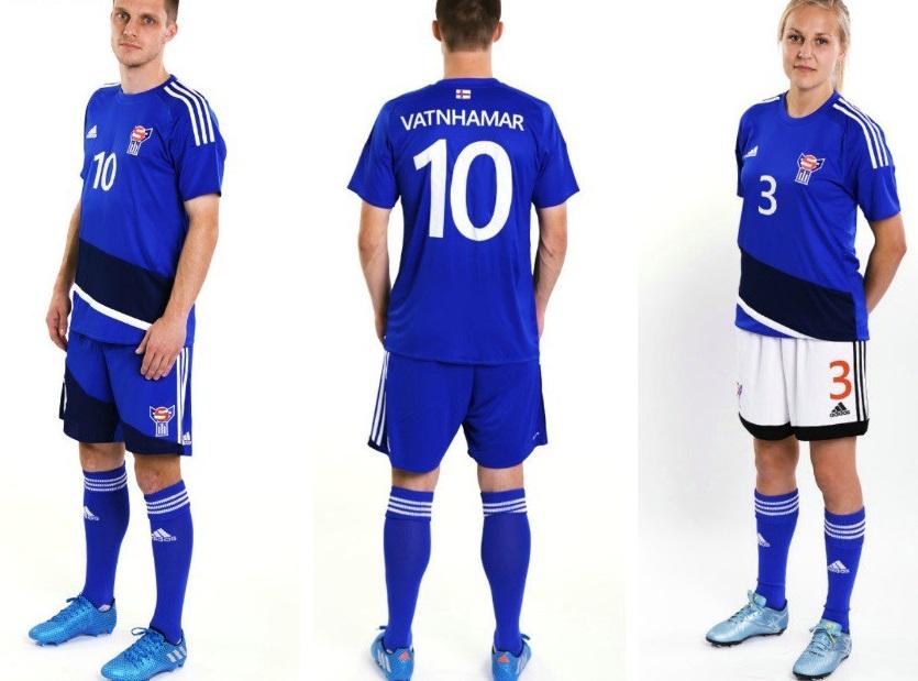 Faroe Islands home kit 16/17