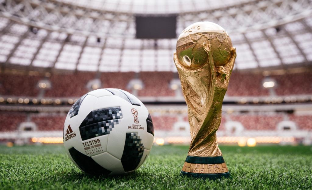 Adidas Telstar World Cup match ball 2018