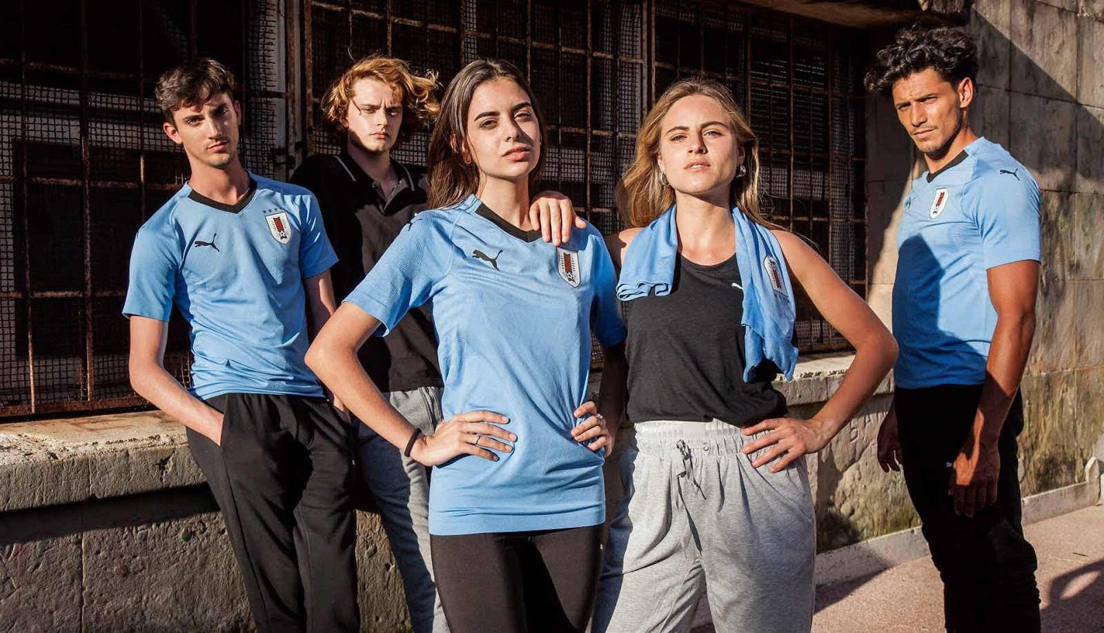 Uruguay World Cup 2018 home jersey