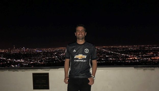 Manchester United away jersey Review from LA