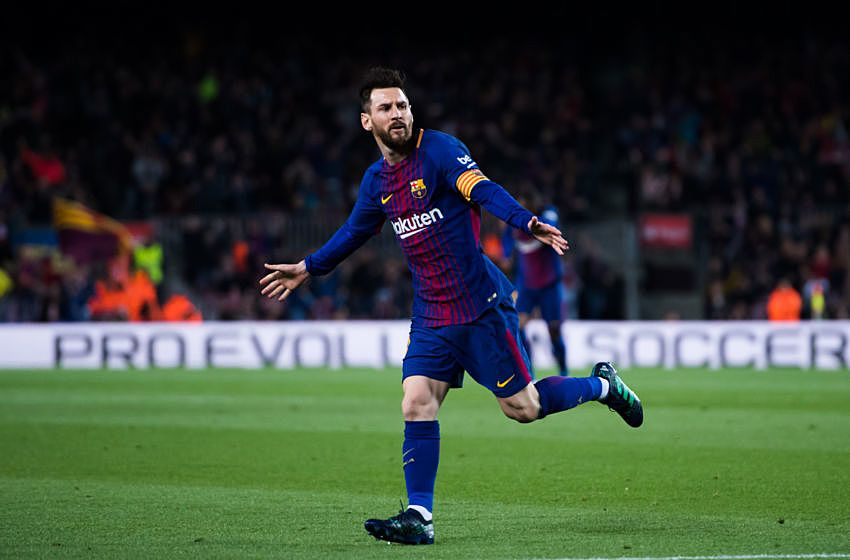 Messi Nemeziz boots on pitch