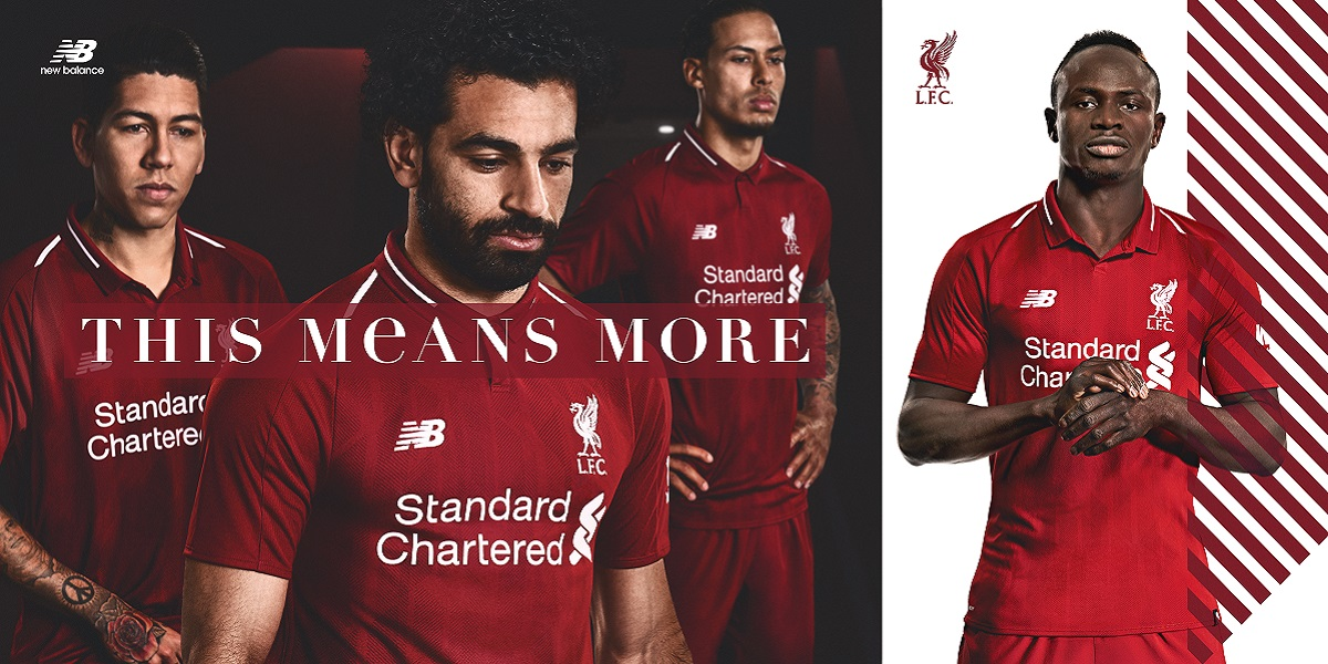 Liverpool home jersey 2018/19