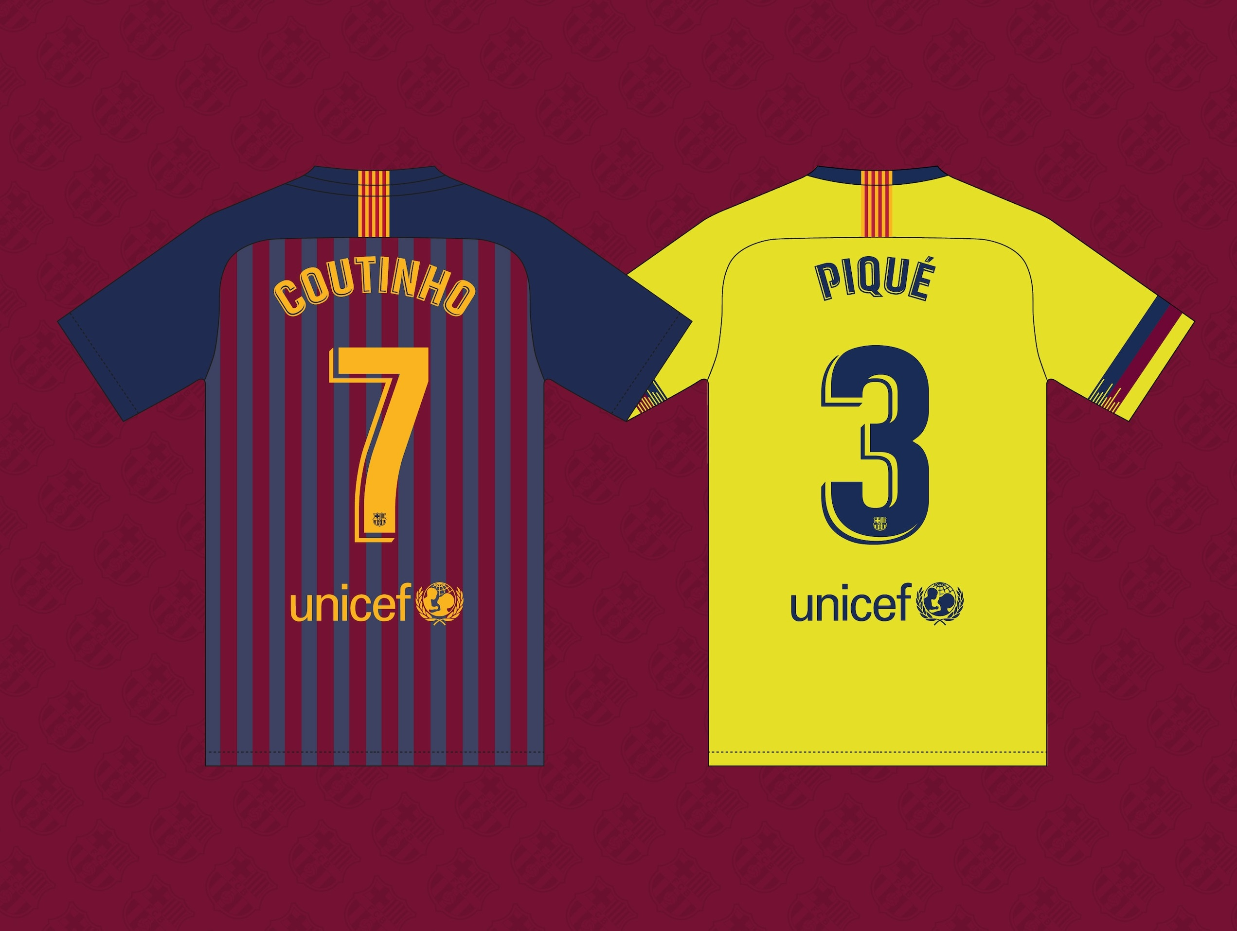 FC Barcelona printing by Avery