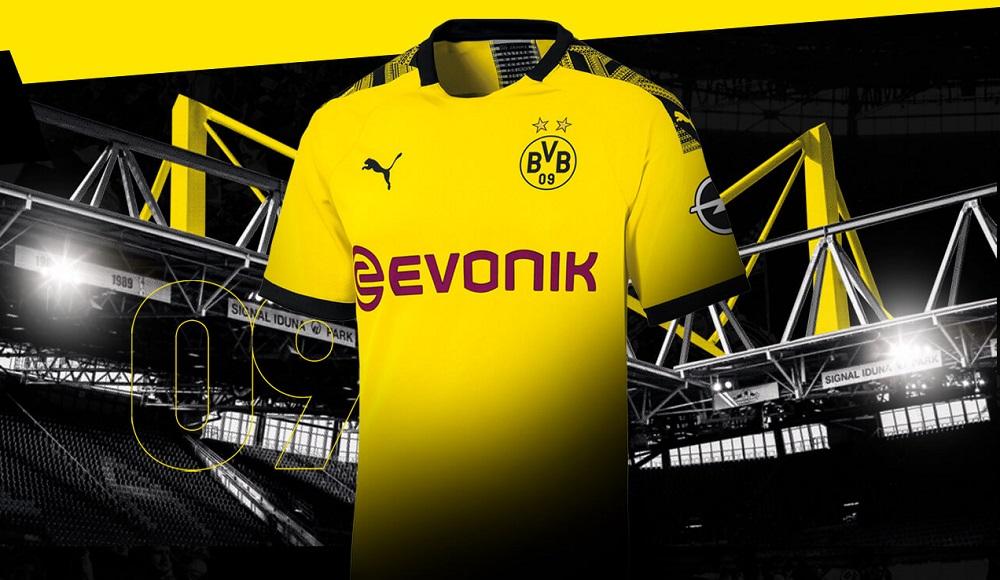 Dortmund home kit stadium