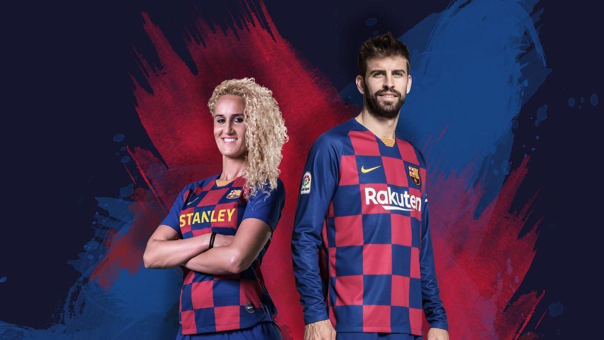 Barca home kit 19/20