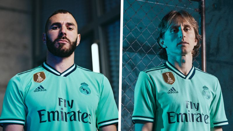 Real Madrid third kit 19/20