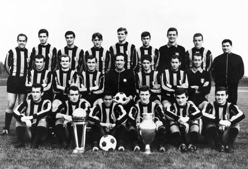 Inter team photo 1965-66