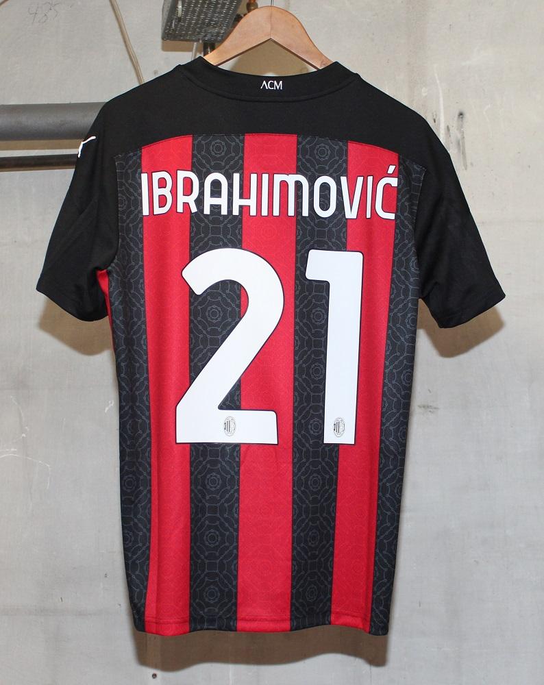 AC Milan 20/21 Ibrahimovic 21 jersey