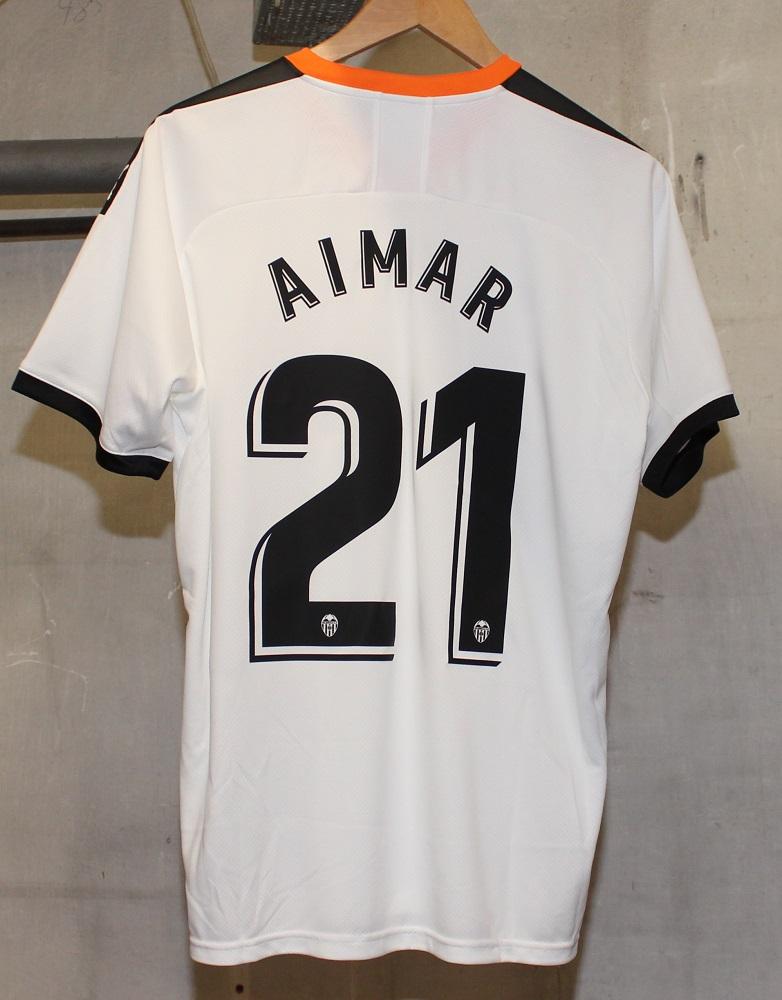 Valencia 19/20 jersey Aimar 21